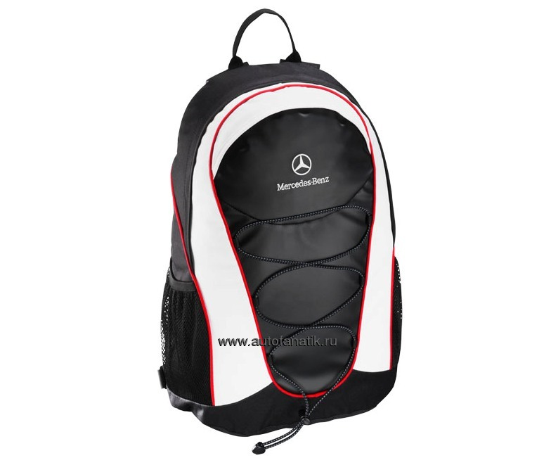 Mercedes benz motorsport backpack b67995979 7440 for Mercedes benz backpack