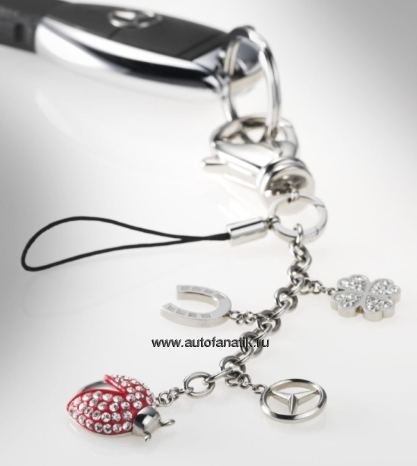 Mercedes benz lady lucky charms 2012 b66952812 for Mercedes benz charm