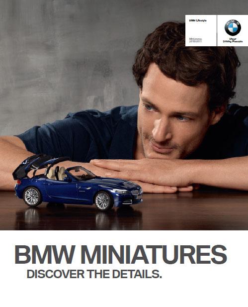 Каталог BMW Miniatures 2010-2011