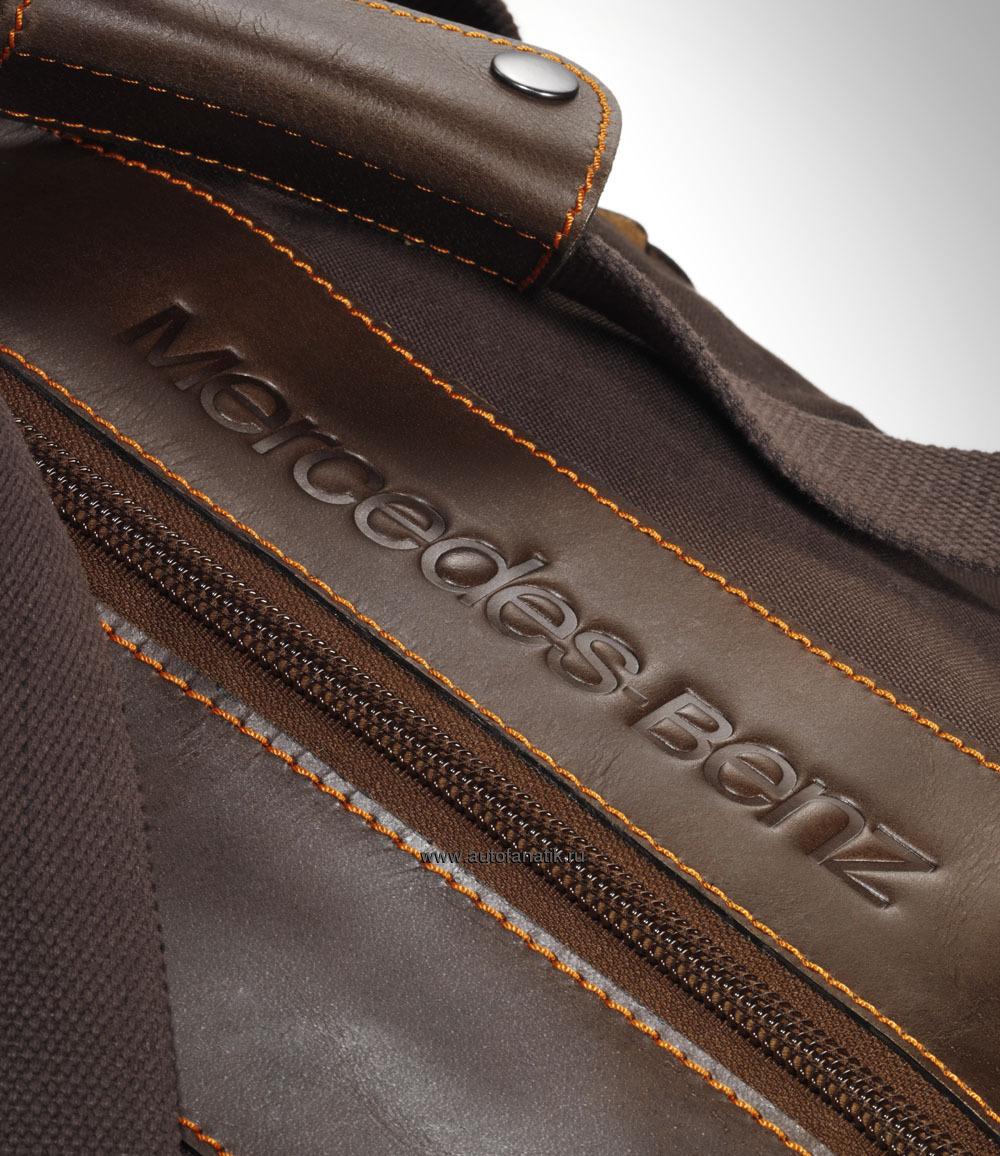 Mercedes benz weekend unisex travel bag for Mercedes benz purse