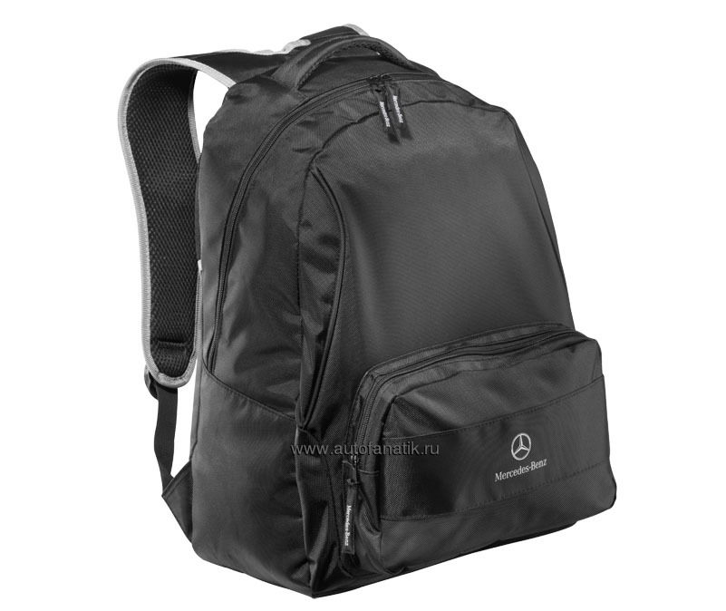 Mercedes benz backpack black 2012 b66957869 5030 for Mercedes benz backpack