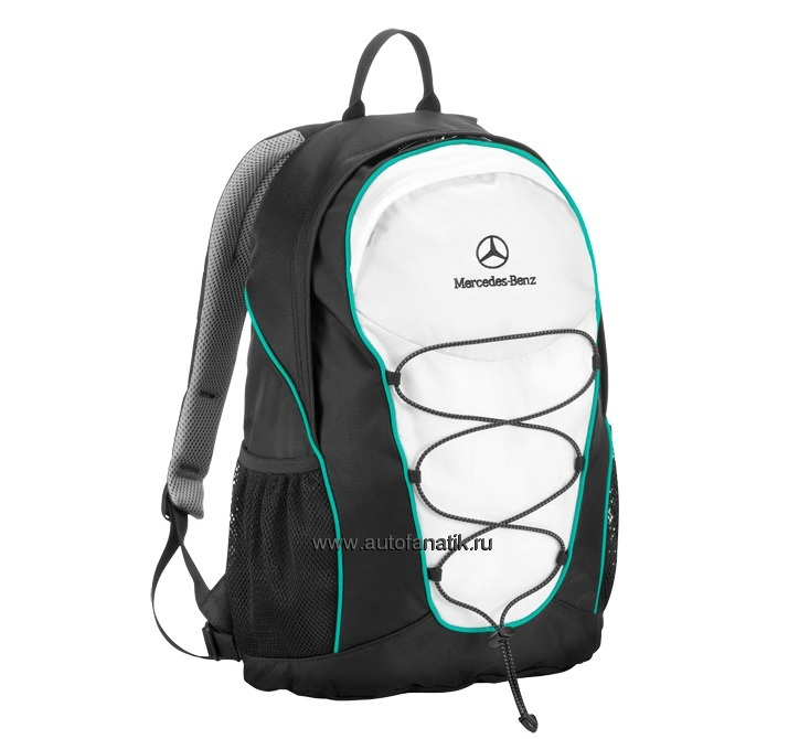 Mercedes benz motorsport backpack b67995331 7440 for Mercedes benz backpack