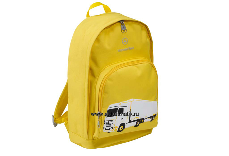 Mercedes benz kid 39 s backpack yellow for Mercedes benz backpack