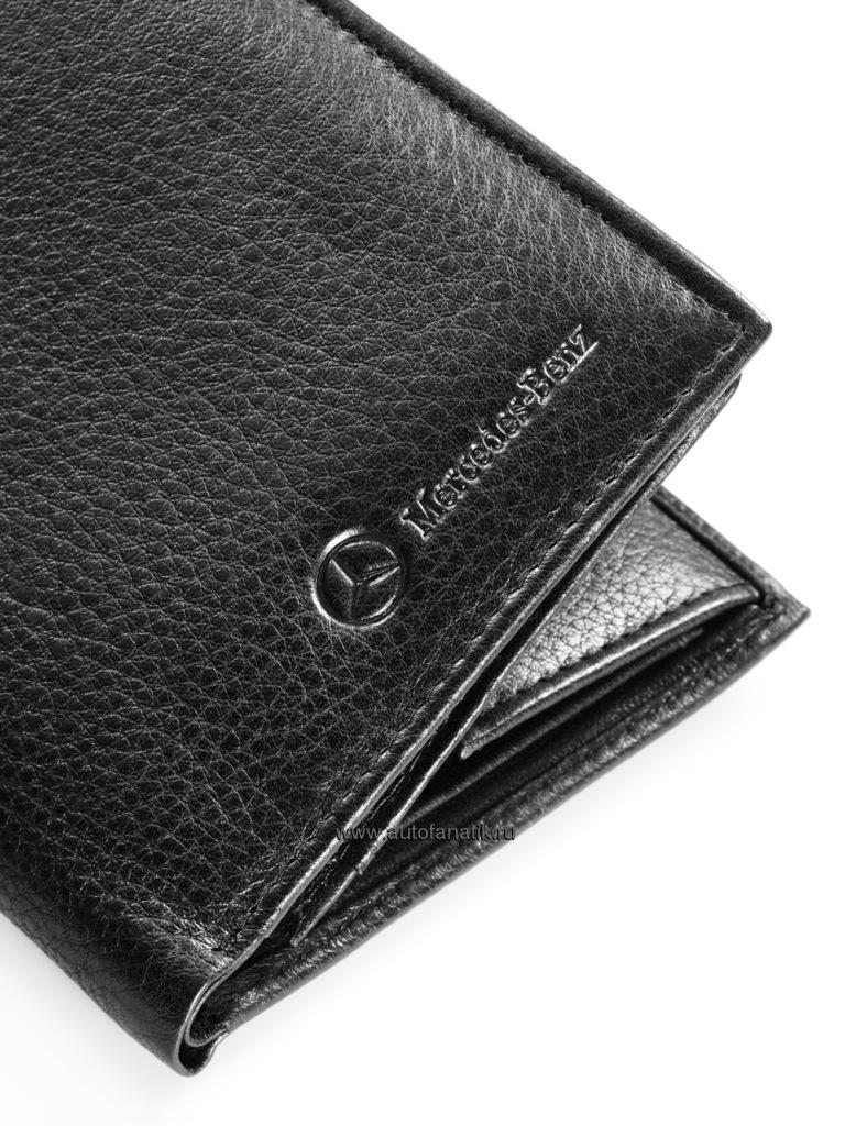 Mercedes benz men 39 s leather wallet for Mercedes benz wallet
