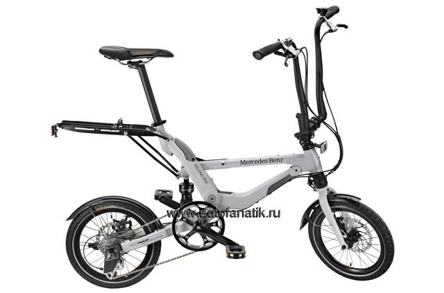 Mercedes benz folding bike silver for Mercedes benz folding bike