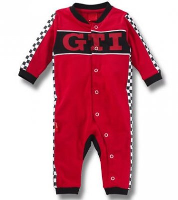 Детский комбинезон Volkswagen Kid's Rompers Suit GTI, Red
