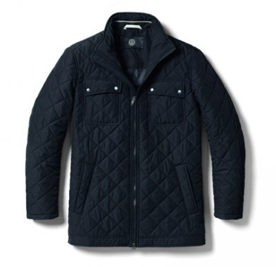 Мужская стеганая куртка Volkswagen Men's Quilted Jacket, Black