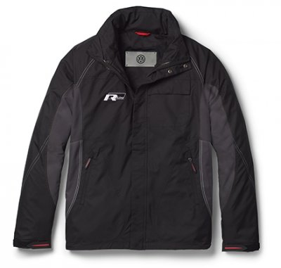 Мужская куртка Volkswagen Men's Jacket R-Line, Black Grey