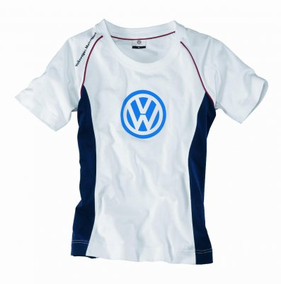 Женская футболка Volkswagen Ladies Fan's T-Shirt Motorsport, White