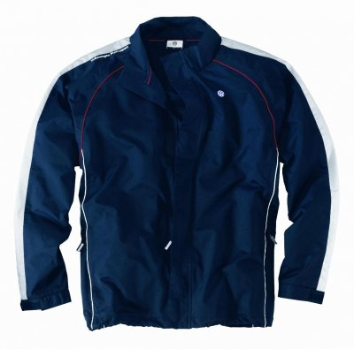 Мужская спортивная куртка Volkswagen Men's Sports Jacket Motorsport, White Blue