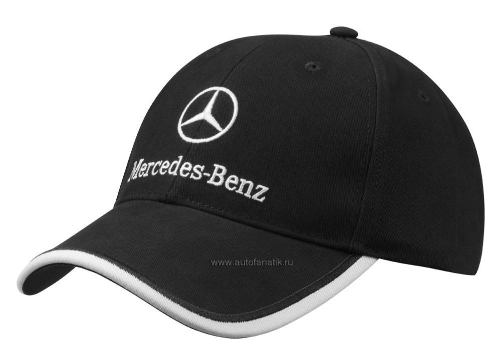 mercedes benz unisex baseball cap white logo