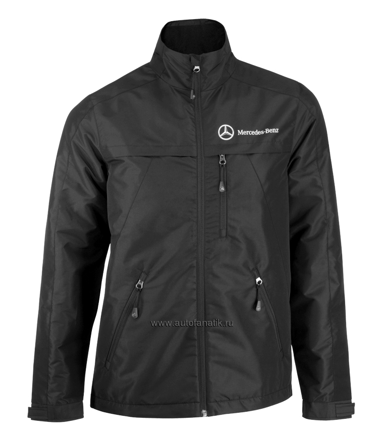 mercedes benz fleece jacket