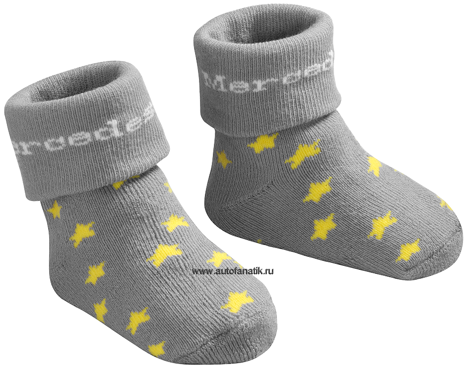 mercedes baby socks grey b66951686 940