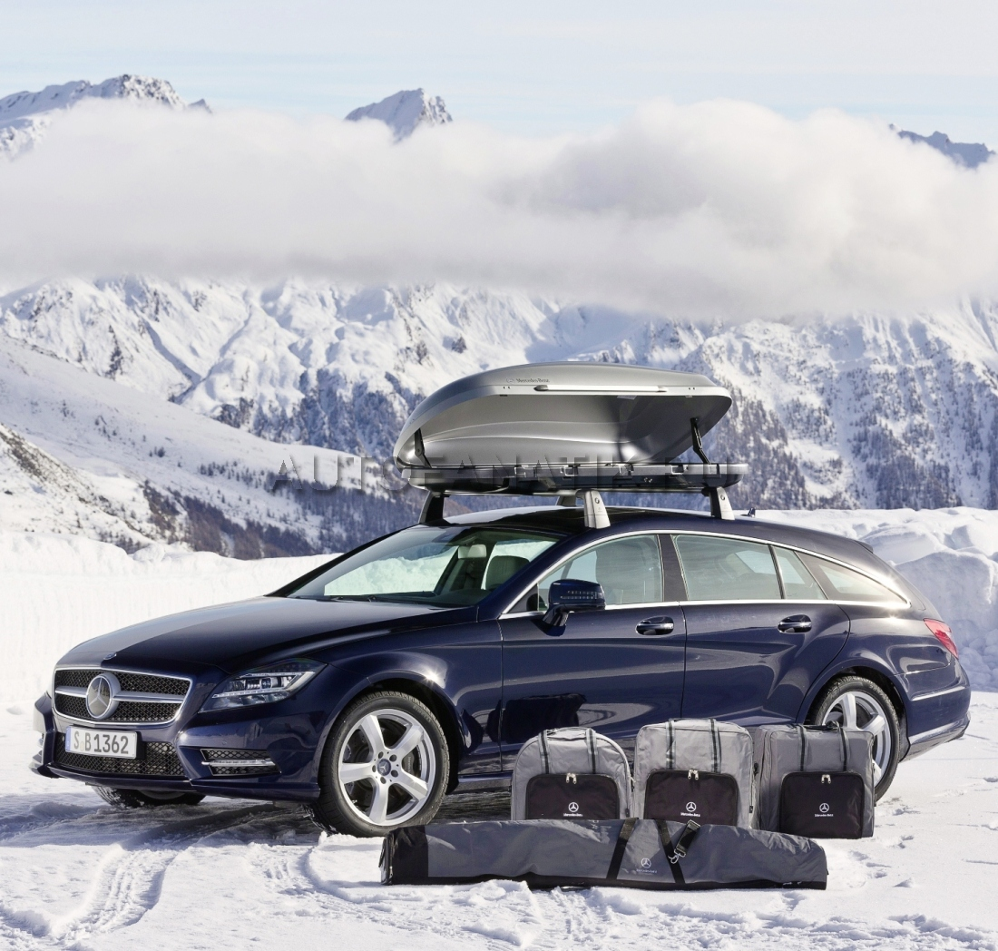 Mercedes 400 luggage for Mercedes benz roof box 400