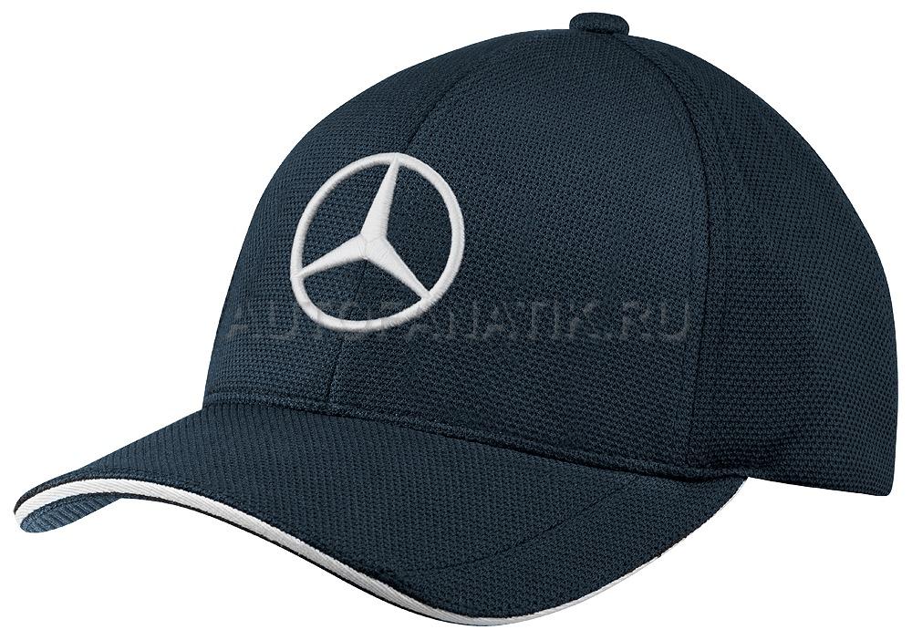 Mercedes benz baseball cap hugo boss navy blue for Mercedes benz baseball caps