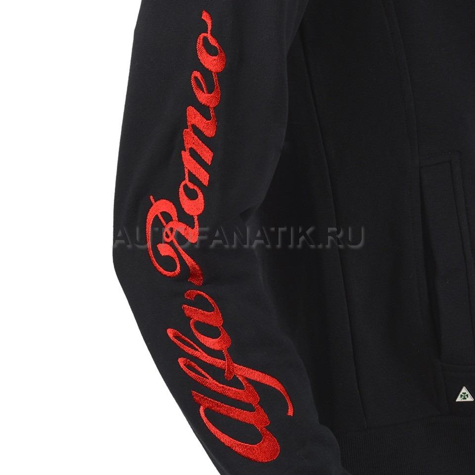 Alfa Romeo 5916640 4650 Sweatshirt Mens Black