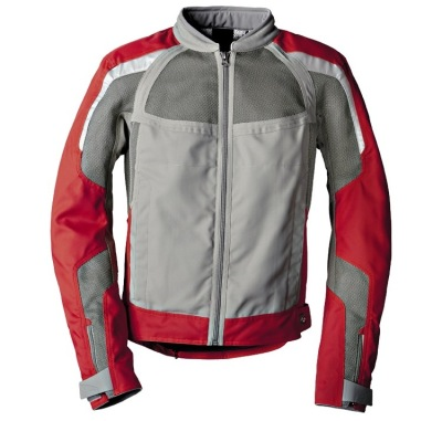 Мужская мотокуртка BMW Motorrad AirFlow Jacket Grey/Red
