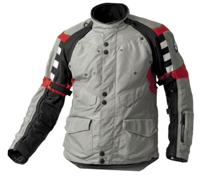 Мужская мотокуртка BMW Motorrad Rallye Jacket Gray/Red