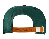 Бейсболка BMW Motorrad Roadster cap, Green-Red, артикул 76868552706