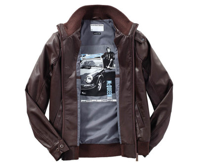 Мужская кожаная куртка Porsche Men's leather blouson – Steve McQueen