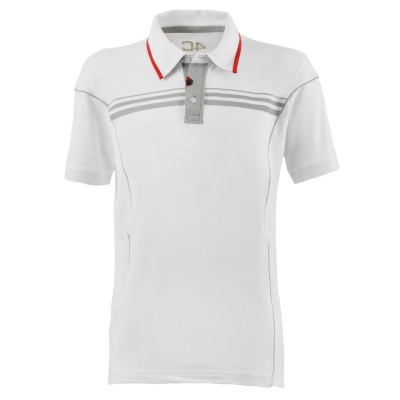 Мужская рубашка поло Alfa Romeo 4C Men's S-Sleeved Polo Shirt, White