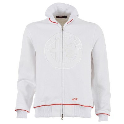 Мужская толстовка Alfa Romeo Men's White Sweatshirt