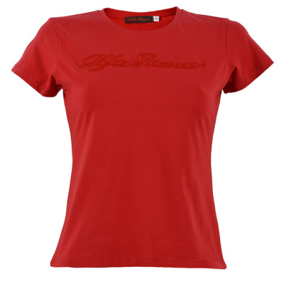 Женская футболка Alfa Romeo Women's red s-sleeved T-shirt