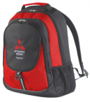 Рюкзак Mitsubishi Backpack, Black-Red