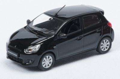 Модель автомобиля Mitsubishi Global Small, 1:43 scale, Black