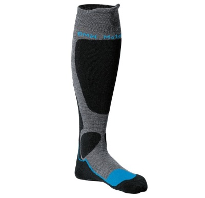 Носки BMW Motorrad Functional socks, Anthracite / Black / Blue