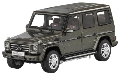 Модель Mercedes-Benz G-Class, Indium Grey, Scale 1:43