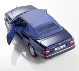 Модель Mercedes-Benz 300 CE-24, Cabriolet, A124 (1992-1993), Blue Metallic, Scale 1:18, артикул B66040621