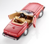 Модель Mercedes-Benz 300 SL, R107 (1985-1989), for USA, Red Metallic, Scale 1:18, артикул B66040623