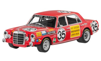 Модель Mercedes-Benz 300 SEL 6.8 AMG, Spa, W109, 1971, Red, Scale 1:43