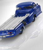 Модель Mercedes-Benz Race car transporter, 1955, Blue, Scale 1:43, артикул B66040569
