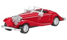 Модель Mercedes-Benz 500 K Special Roadster, W 29, 1935, Red, Scale - 3 inch
