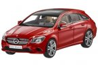 Модель Mercedes-Benz CLA-Klasse, Shooting Brake, Jupiter Red, Scale 1:43