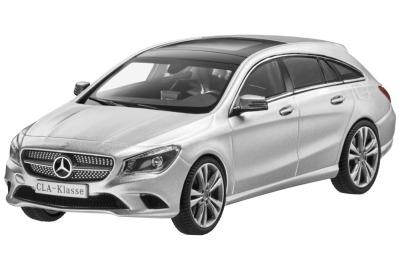 Модель Mercedes-Benz CLA-Klasse, Shooting Brake, Polar Silver, Scale 1:43