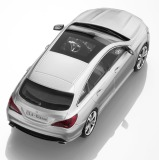 Модель Mercedes-Benz CLA-Klasse, Shooting Brake, Polar Silver, Scale 1:43, артикул B66960348