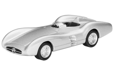 Модель Mercedes-Benz Streamline, W 196 R, 1954, Silver, Scale - 3 inch