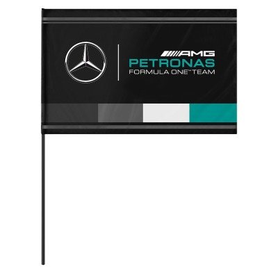 Флаг команды Mercedes-Benz AMG PETRONAS F1 Team Flag, MAMGP