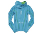 Женская куртка BMW Athletics Performance Long-Sleeved Shirt, ladies, Ocean Blue, артикул 80142361112