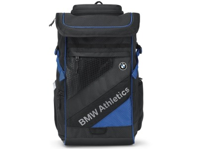 Рюкзак BMW Athletics Performance Backpack, Black/Royal Blue