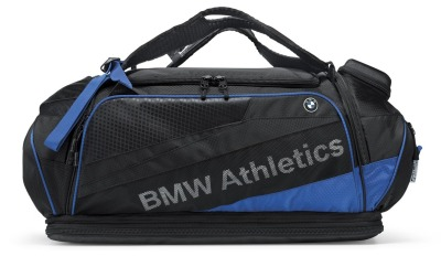 Спортивная сумка BMW Athletics Performance Sports Bag, Black/Royal Blue