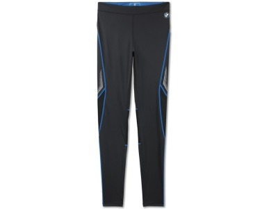 Мужские спортивные штаны BMW Athletics Sports Tights, long, men, Black - Royal Blue