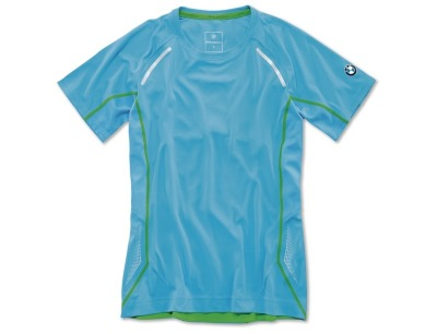 Женская футболка BMW Athletics Sports T-Shirt, ladies, Ocean Blue
