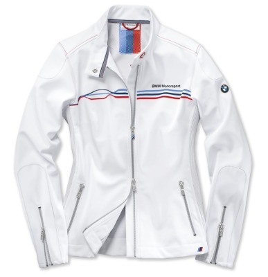 Женская куртка BMW Motorsport Softshell Jacket, ladies, White