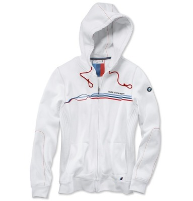 Женская куртка BMW Motorsport Sweat Jacket, ladies, White