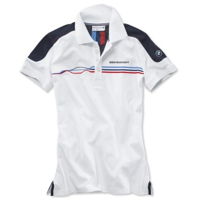 Женская рубашка BMW Motorsport Fan Polo Shirt, ladies