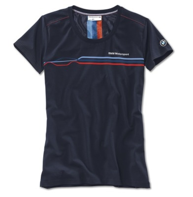 Женская футболка BMW Motorsport Motorsport Fashion T-Shirt, ladies, Team Blue